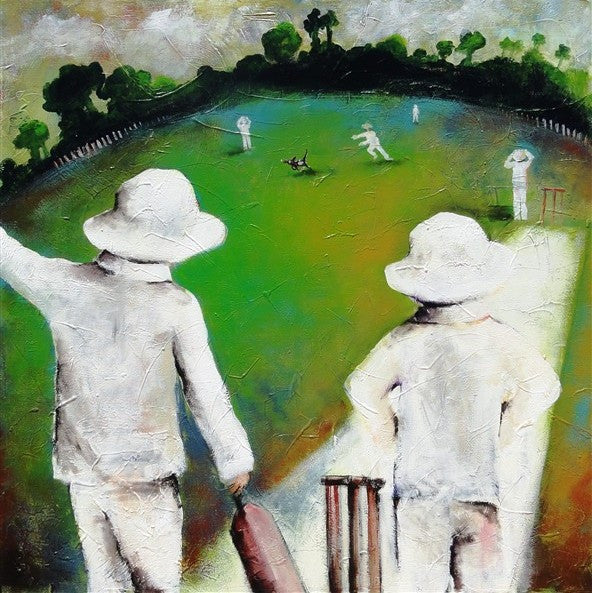 Cricket Time - Canvas Art Online Australia from Go Arty