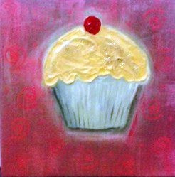 Cupcake - Canvas Art Online Australia from Go Arty
