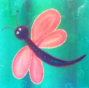 Dragonfly - Canvas Art Online Australia from Go Arty