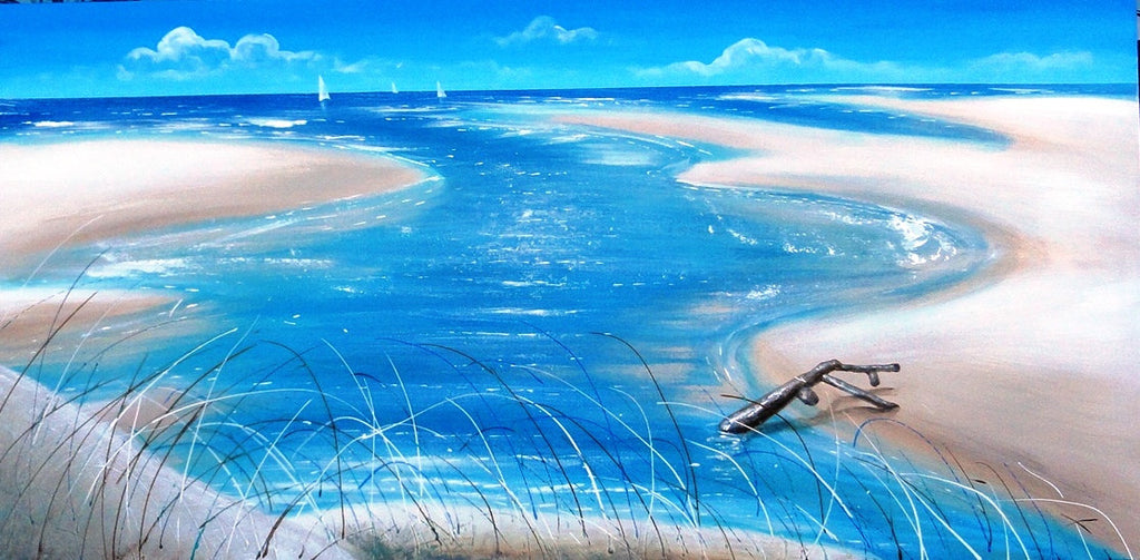 Estuary - Canvas Art Online Australia from Go Arty