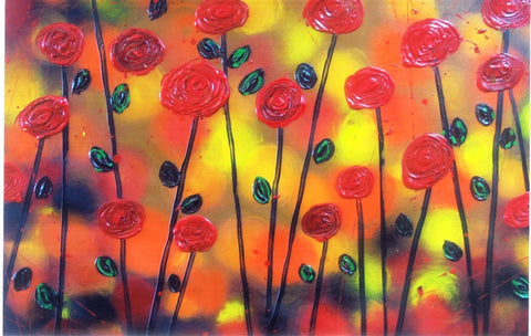Field Of Poppies - Canvas Art Online Australia from Go Arty