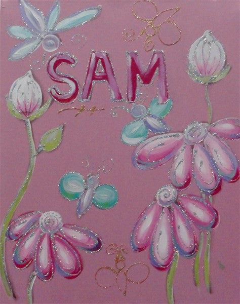 Flower Name - Canvas Art Online Australia from Go Arty