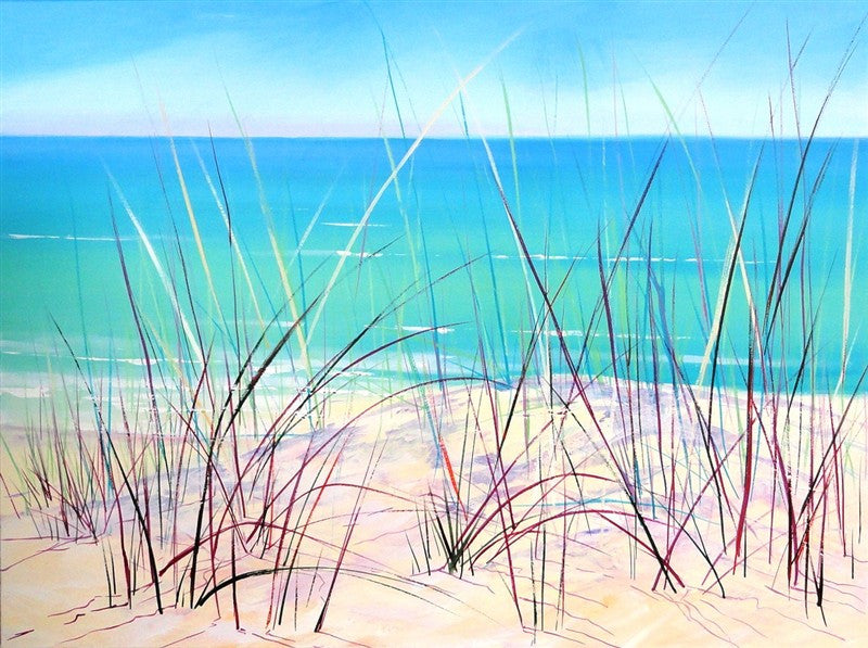 Grasses In The Dunes - Canvas Art Online Australia from Go Arty