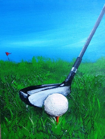 Hole In One - Canvas Art Online Australia from Go Arty