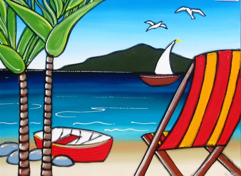 Holiday Bay - Canvas Art Online Australia from Go Arty