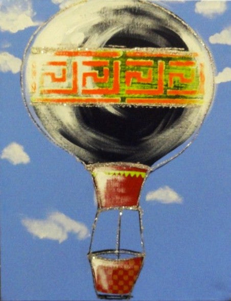 Hot Air Ballooning - Canvas Art Online Australia from Go Arty