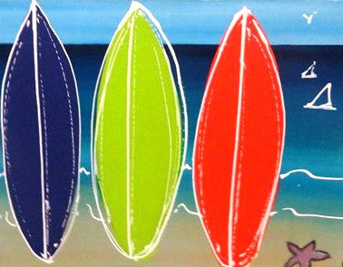 Kids Surfboards - Canvas Art Online Australia from Go Arty