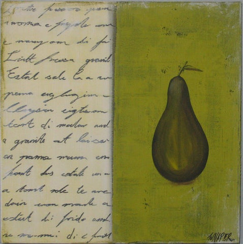 Kitchen Pear - Canvas Art Online Australia from Go Arty