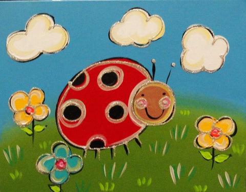 Lady Bug - Canvas Art Online Australia from Go Arty