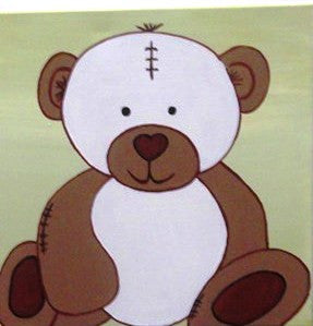 Lil Bear - Canvas Art Online Australia from Go Arty