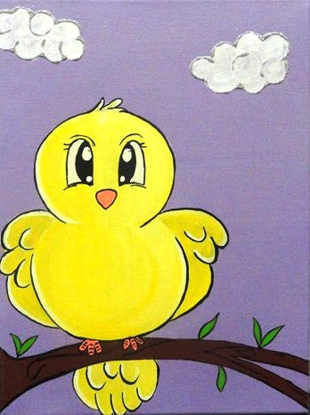 Little Bird - Canvas Art Online Australia from Go Arty