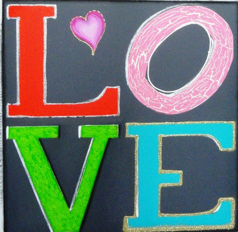 Love - Canvas Art Online Australia from Go Arty