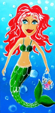 Mermaid - Canvas Art Online Australia from Go Arty