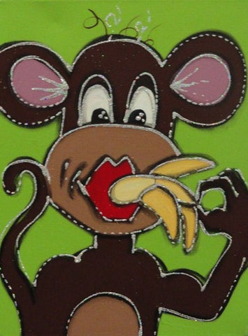 Monkey Business - Canvas Art Online Australia from Go Arty