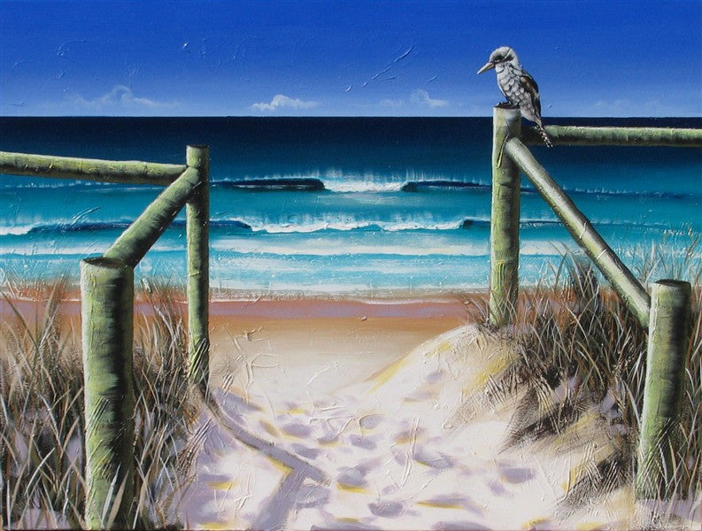 Morning Walk - Canvas Art Online Australia from Go Arty