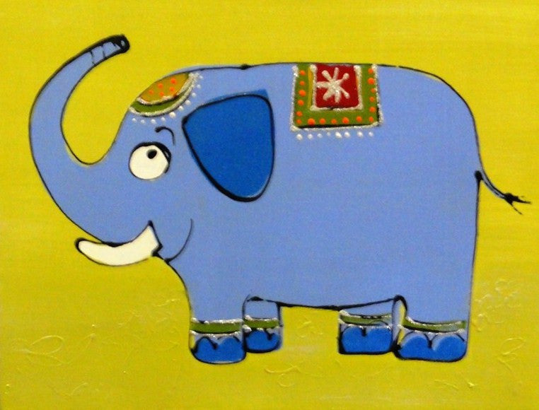 Mr Elephant - Canvas Art Online Australia from Go Arty