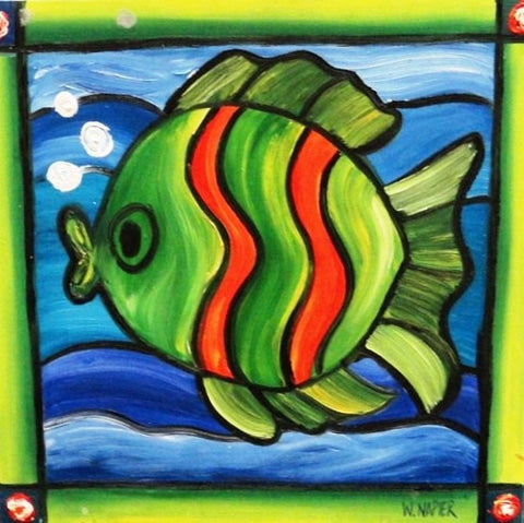 Mr Fish - Canvas Art Online Australia from Go Arty