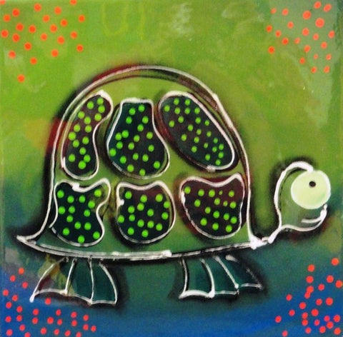 Mrs Turtle - Canvas Art Online Australia from Go Arty