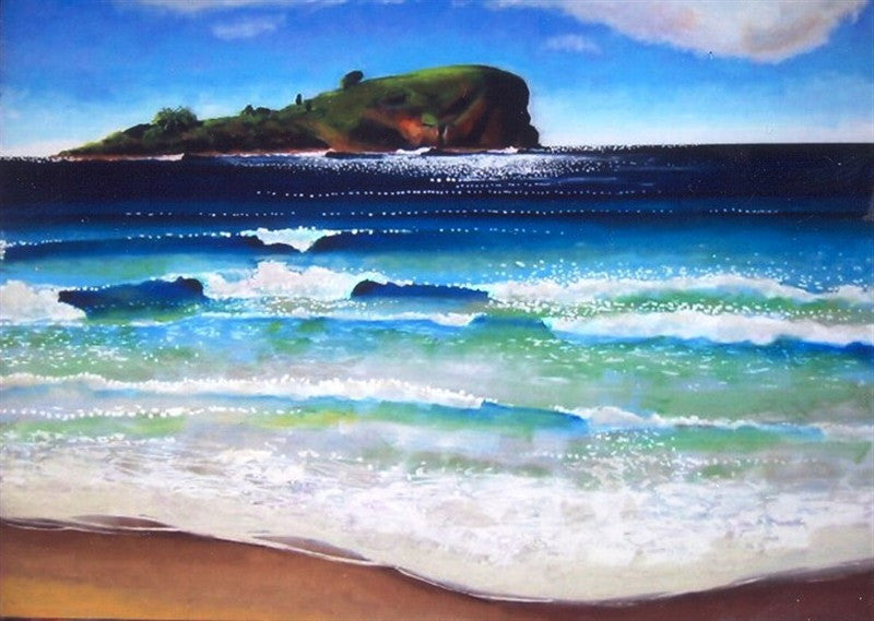 Mudjimba Island - Canvas Art Online Australia from Go Arty