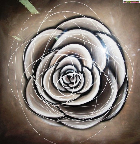Neutral Rose - Canvas Art Online Australia from Go Arty