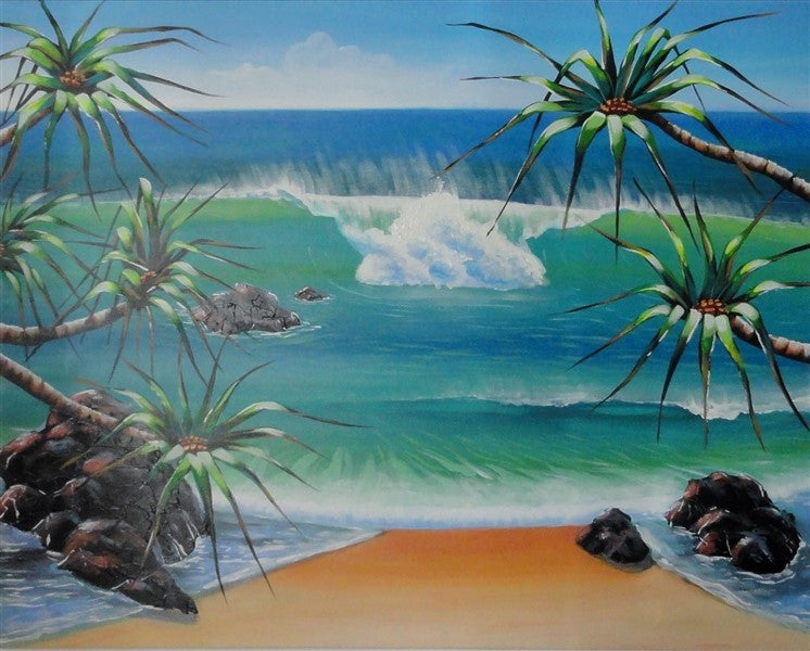 Pandanus Cove 2 - Canvas Art Online Australia from Go Arty