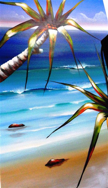 Pandanus Cove - Canvas Art Online Australia from Go Arty