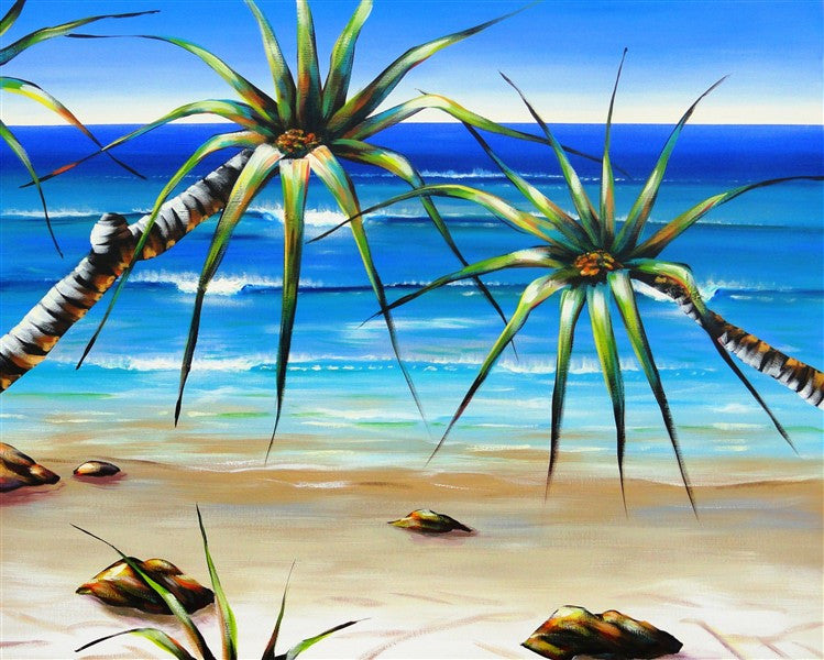 Pandanus - Canvas Art Online Australia from Go Arty
