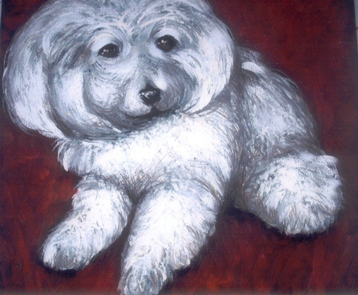 Pet Portrait - Canvas Art Online Australia from Go Arty