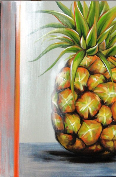 Pineapple - Canvas Art Online Australia from Go Arty