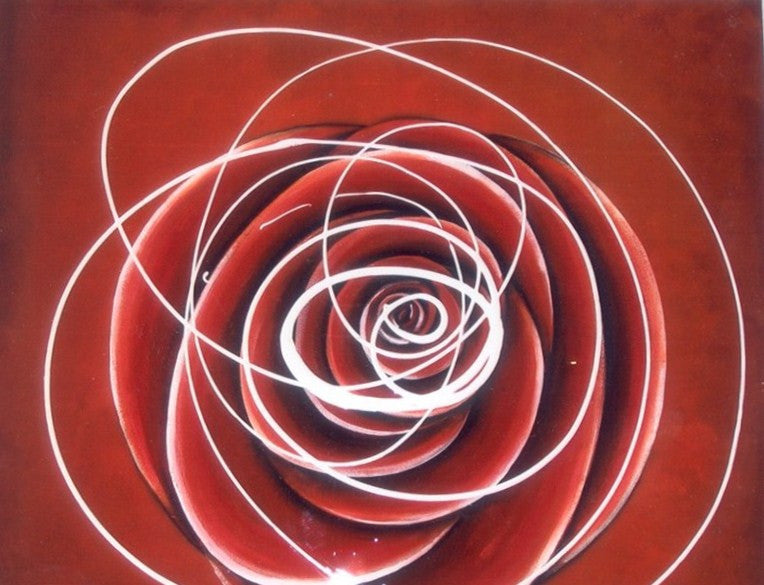 Red Rose - Canvas Art Online Australia from Go Arty