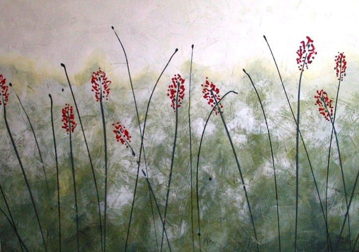 Reeds In The Mist - Canvas Art Online Australia from Go Arty