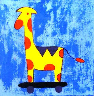Rocking Horse - Canvas Art Online Australia from Go Arty