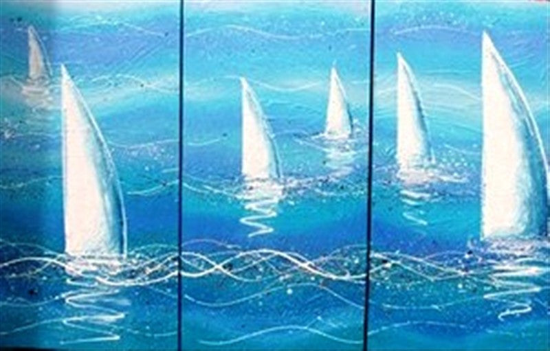 Sailing - Canvas Art Online Australia from Go Arty