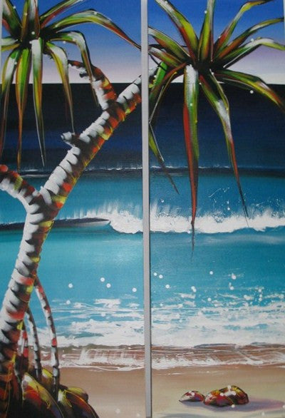 Seaside Escape - Canvas Art Online Australia from Go Arty