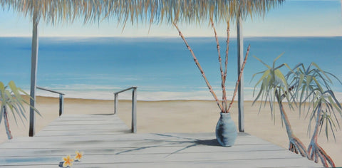 Serenity In Blue - Canvas Art Online Australia from Go Arty