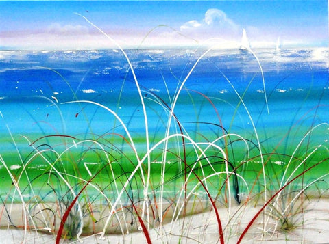 Spinifex Grass - Canvas Art Online Australia from Go Arty