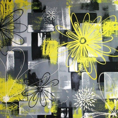 Spring In Yellow - Canvas Art Online Australia from Go Arty