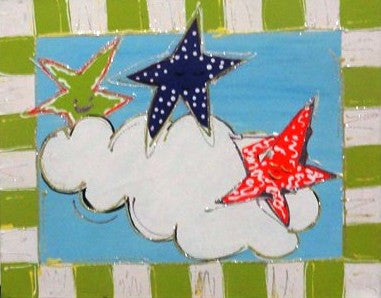 Stars In The Cloud - Canvas Art Online Australia from Go Arty