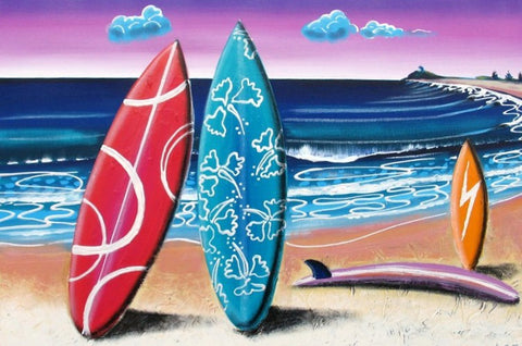 Summer Bay - Canvas Art Online Australia from Go Arty