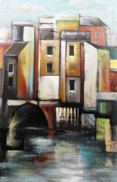Summer in Venice - Canvas Art Online Australia from Go Arty