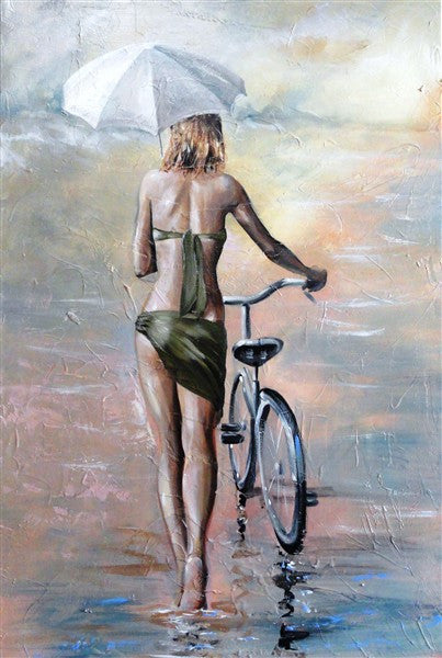 Summer Strolling - Canvas Art Online Australia from Go Arty