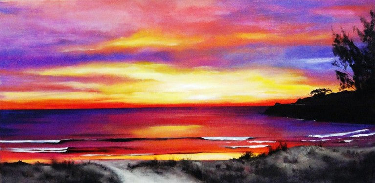 Sunset Beauty - Canvas Art Online Australia from Go Arty
