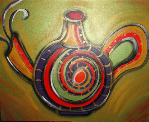 Tea Pot - Canvas Art Online Australia from Go Arty