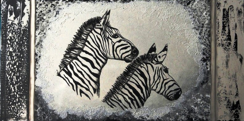Zebras - Canvas Art Online Australia from Go Arty