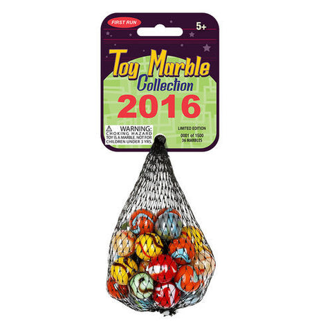 2016 MegaFun Toy Marble Collection