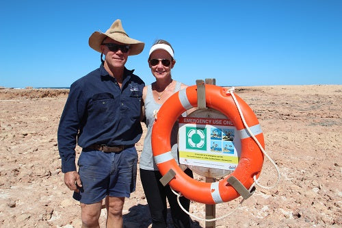 Community Heroes Keep Fishers Safe in the Gascoyne