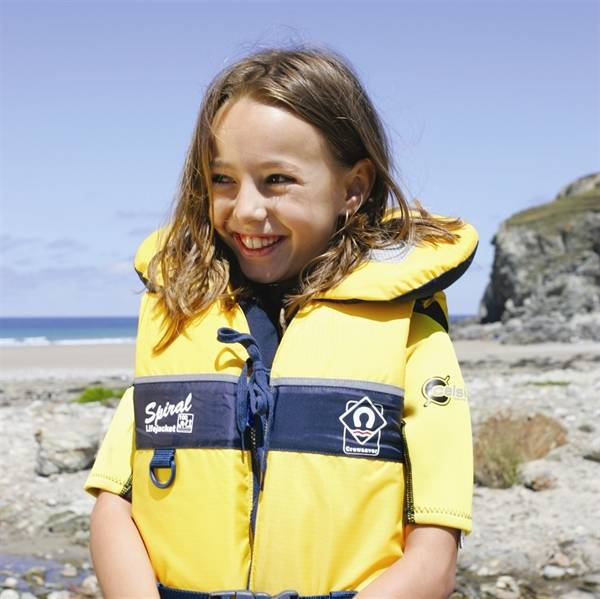 Kids lifejackets in a range of sizes