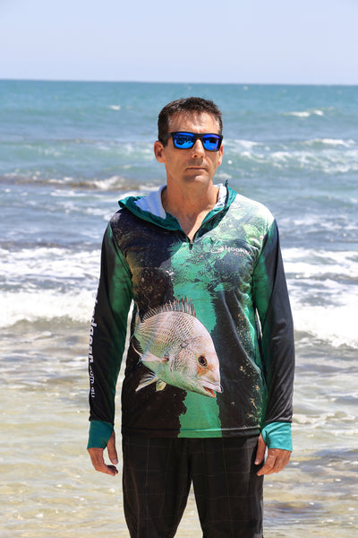 Adults Sun Safe UV Bream Hoodie