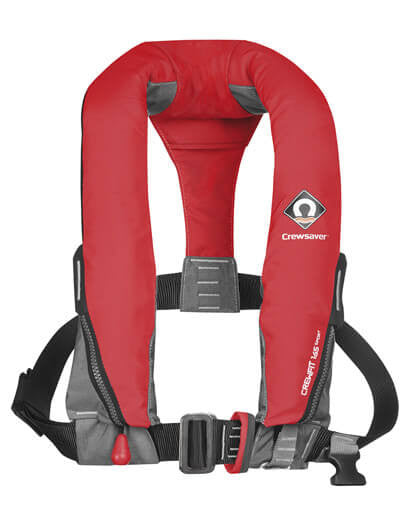 Adult Lifejacket - Crewfit 165 Sport Manual