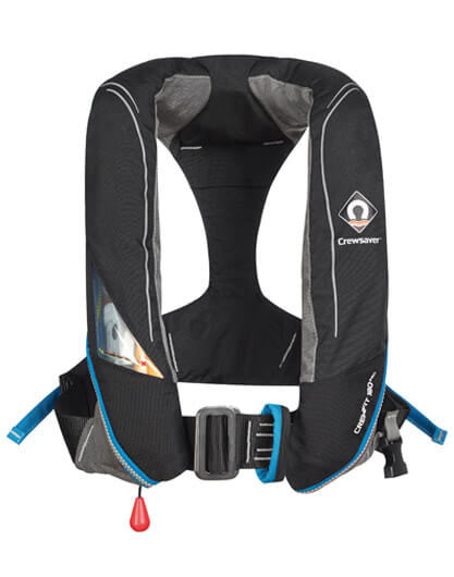 Adult Lifejacket - Crewfit 180N Pro Auto Inflate